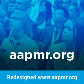 Redesigned www.aapmr.org