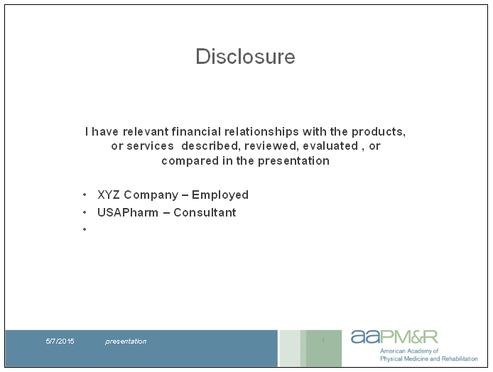 Best Conflict Of Interest Disclosure Template Images Gallery ...