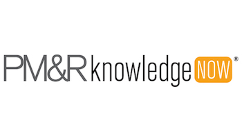 PM&R Knowledge Now Logo