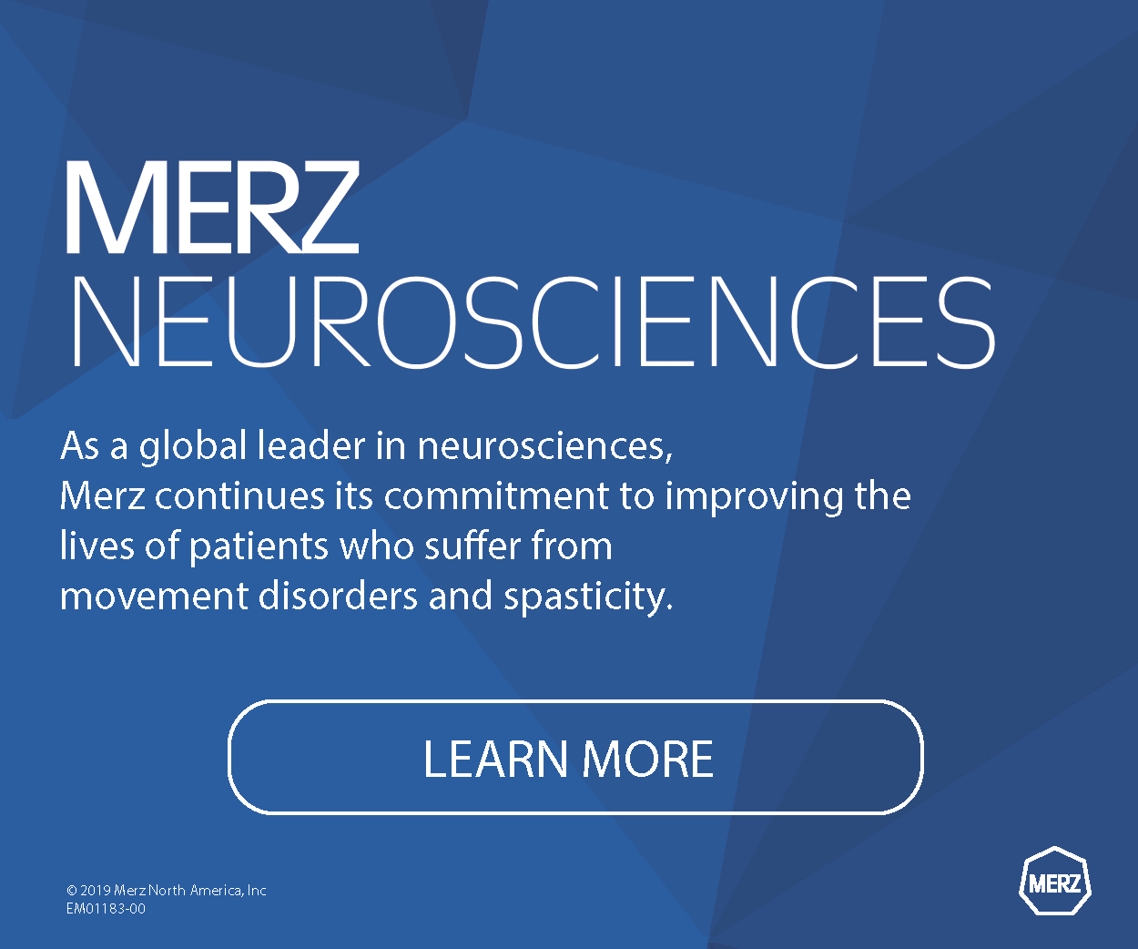 EM01183-00 Merz Neurosciences Digital Advertisement