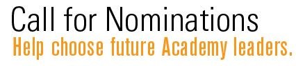 Call for Nominations Logo